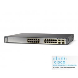 سوئیچ سیسکو CISCO Switch WS-C3750G-24PS-S