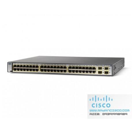 سوئیچ سیسکو CISCO Switch WS-C3750G-48PS-S